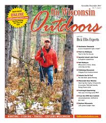 Wisconsin where to travel in december images Online versions of on wisconsin outdoors with the dick ellis jpg