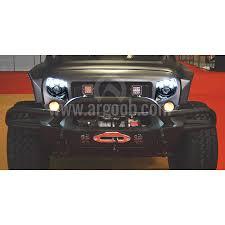 jeep black headlights j w speaker 8700 evolution j series 7