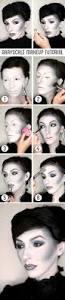 Halloween Lip Makeup Grayscale Makeup Tutorial For Halloween Keiko Lynn