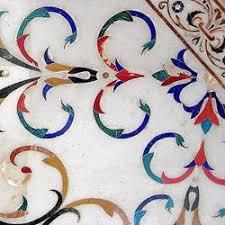 marble inlay floorings exporter from jaipur