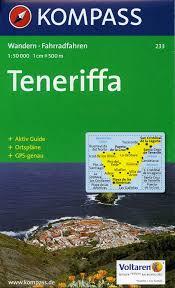 Las Americas Map by Tenerife Kompass Map 1 50 000