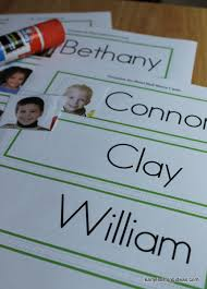 cards for name cards make name cards for your word wall early learning ideas