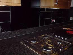 black glass backsplash kitchen black glass tiles table kitchen bed garden