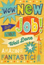 Congrats On New Job Card New Job Greeting Cards Diy Graduation Invitations
