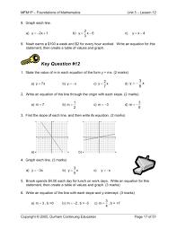 100 scatter plots worksheets notebook 8th grade math