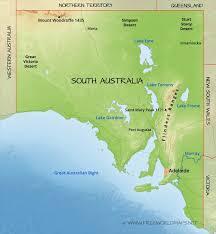 Austrailia Map South Australia Map Roundtripticket Me
