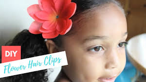 flower for hair how to make diy flower for hair tutorial