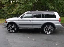 mitsubishi montero sport 1999 2000 mitsubishi montero sport information and photos zombiedrive