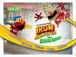 sesame iron and sesame heroes dvd review