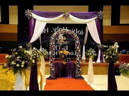 wedding backdrop setup how to setup an indian christian wedding decoration backdrop