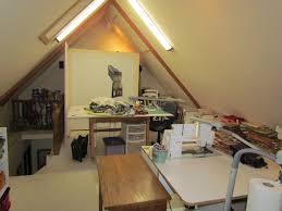 lenore u0027s art world my attic studio and design walls