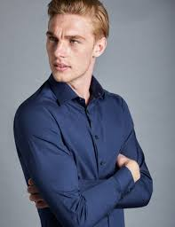 images of mens navy blue dress shirt best fashion trends and models