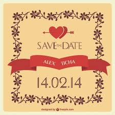 wedding invitation frame wedding invitation with hearts and floral frame vector free