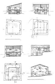 drawing of the machubi stableshome in chazhashi ushguli floor