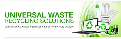 universal waste recycling solutions light bulbs e waste