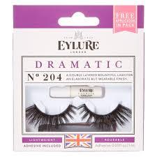 Eylure Dramatic 204 False Lashes Claire U0027s Us