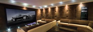 Minimalist Home Theatre Design For Family Gathering Spot Modern - Best home theater design