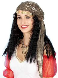 Halloween Costumes Wigs Mystic Fortune Teller Gypsy Wig Wigs International