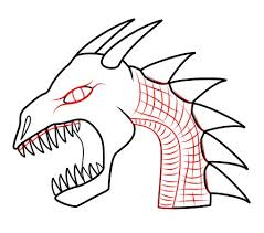 draw dragon dragon u0027s head