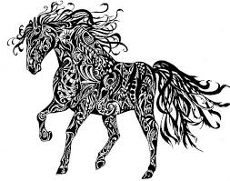 163 horses ink images horses horse art