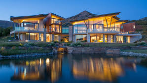 this 32 5 million telluride estate literally has a river running
