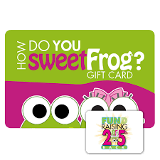 gift card fundraiser gift card fundraisers sweetfrog premium frozen yogurt