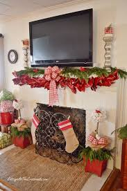25 unique fireplace garland ideas on