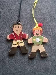 firefly baked clay gingerbread ornaments by lefthandasylum on etsy