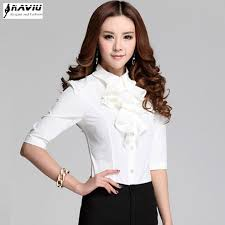 s plus size blouses 2015 summer s ruffle chiffon shirt plus size blouse for