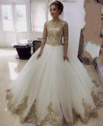 gold wedding dresses gold wedding dress with sleeves naf dresses