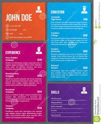 Create Free Printable Resume Resume Resume Design Template