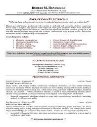 journeyman electrician resume exles exle of journeyman electrician resume http exleresumecv