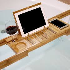 Japanese Desk Accessories by Bamboo Bath Expandable Shower Tub Tray For 28 99 In Kitchenware