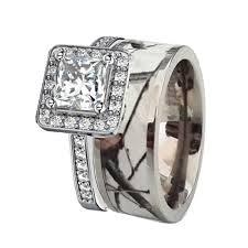 camo wedding rings sets camo wedding bands and engagement rings camo diamond wedding rings