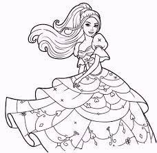 barbie fashion show coloring pages coloring pages
