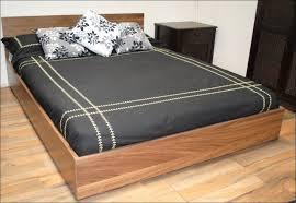 Headboard Nightstand Attached Bedroom Magnificent Floating Headboard With Attached Nightstands
