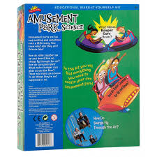 amusement park science cool science projects by scientific explorer