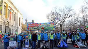 utc sponsored robotics team leads macy s thanksgiving day