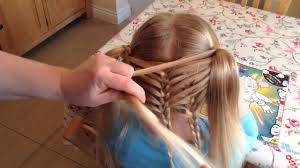 cute girl hairstyles how to french braid diagonal french loopraid cute hairstyles long singular girl little