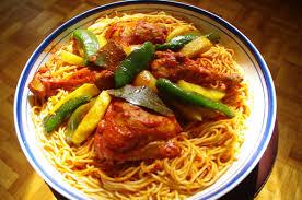 cuisine tunisienne makrouna bel salsa spaghetti à la tunisienne la cuisine de fataine
