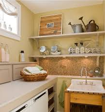 Laundry Room Decorating Accessories Vintage Laundry Room Decor With Vintage Utility Laundry Sink And
