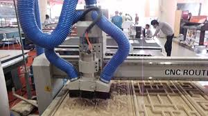 chinese cnc wood router 1325 wtih vacuum suction system for wood