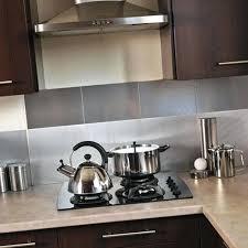 poser carrelage mural cuisine ide crdence cuisine tile stainless steel mosaic credence cuisine