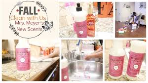 clean with us ft new mrs meyer u0027s fall scents family edition