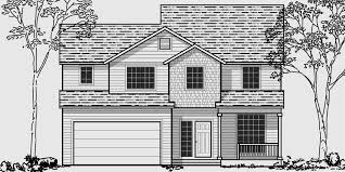two story house plan 3 bedroom house plans 40 wide house plans narrow lot house plan