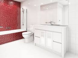 Bathroom Warehouse I See Red I See Red I See Red Accent Colour Who Bathroom