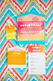 wedding invitations dc greece inspired colorful wedding rehearsal dinner united with love
