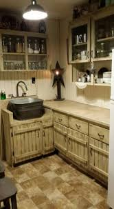 Rustic Kitchen Cabinets Crafty   Best Cabinet Ideas And Designs - Rustic kitchen cabinet