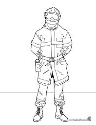firefighter coloring pages printable tools fire fighter
