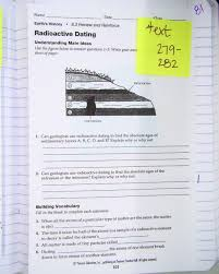 relative dating worksheet answers treshyself198515